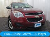 2010 Cardinal Red Metallic Chevrolet Equinox LS AWD #127569960
