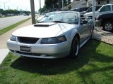 2001 Silver Metallic Ford Mustang GT Convertible #12731110