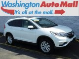 2015 White Diamond Pearl Honda CR-V EX AWD #127590833