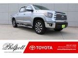 2018 Silver Sky Metallic Toyota Tundra Limited CrewMax #127590933