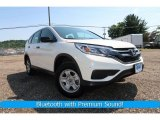 2015 White Diamond Pearl Honda CR-V LX AWD #127590982