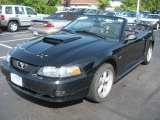 2002 Black Ford Mustang GT Convertible #12726234