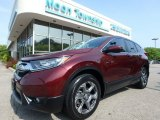 2017 Basque Red Pearl II Honda CR-V EX AWD #127590918