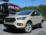 2018 White Gold Ford Escape S #127590691