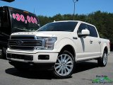 2018 White Platinum Ford F150 Limited SuperCrew 4x4 #127590687