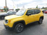 2018 Solar Yellow Jeep Renegade Sport 4x4 #127617720