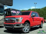 2018 Race Red Ford F150 XLT SuperCrew 4x4 #127617567