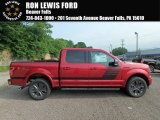 2018 Ruby Red Ford F150 XLT SuperCrew 4x4 #127617652