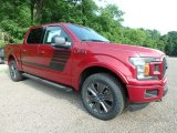 2018 Ford F150 Ruby Red