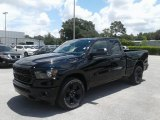 2019 Diamond Black Crystal Pearl Ram 1500 Big Horn Quad Cab #127650288