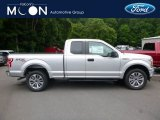 2018 Ingot Silver Ford F150 XL SuperCab 4x4 #127650161