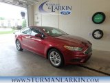 2018 Ruby Red Ford Fusion SE #127667931