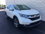 2018 White Diamond Pearl Honda CR-V EX AWD #127667921