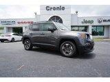 2018 Granite Crystal Metallic Jeep Renegade Latitude #127667966