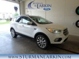 2018 White Platinum Ford Escape Titanium 4WD #127667937