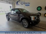 2018 Magma Red Ford F150 XLT SuperCab 4x4 #127667935