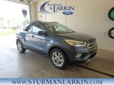 2018 Blue Metallic Ford Escape SEL #127667934