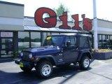 2006 Midnight Blue Pearl Jeep Wrangler X 4x4 #12719469