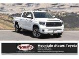 2018 Super White Toyota Tundra SR5 CrewMax 4x4 #127689047