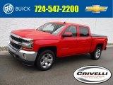 2018 Red Hot Chevrolet Silverado 1500 LT Crew Cab 4x4 #127689189