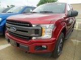 2018 Ruby Red Ford F150 XLT SuperCrew 4x4 #127689231