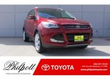 2014 Ruby Red Ford Escape Titanium 1.6L EcoBoost #127710311