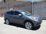 2012 Polished Metal Metallic Honda CR-V EX 4WD #127710490