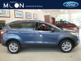 2018 Blue Metallic Ford Escape SEL 4WD #127710293