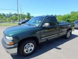 2002 Forest Green Metallic Chevrolet Silverado 1500 LS Regular Cab #127710271
