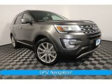 2017 Magnetic Ford Explorer Limited 4WD #127738949