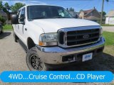 2004 Oxford White Ford F250 Super Duty XLT Crew Cab 4x4 #127738675