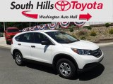 2014 White Diamond Pearl Honda CR-V LX AWD #127738813