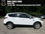 2018 Oxford White Ford Escape SEL #127738757