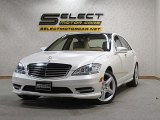 2013 Diamond White Metallic Mercedes-Benz S 550 4Matic Sedan #127738755
