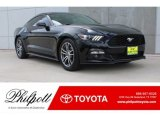 2015 Black Ford Mustang EcoBoost Coupe #127765788