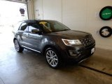 2017 Magnetic Ford Explorer Limited 4WD #127776645