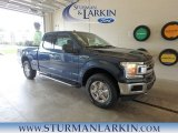 2018 Blue Jeans Ford F150 XLT SuperCab 4x4 #127791213