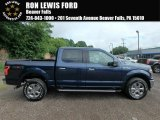 2018 Blue Jeans Ford F150 XLT SuperCrew 4x4 #127791170