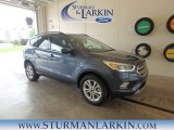 2018 Blue Metallic Ford Escape SEL 4WD #127791212