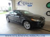 2018 Shadow Black Ford Fusion Hybrid SE #127791210