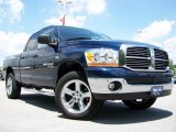2006 Patriot Blue Pearl Dodge Ram 1500 Big Horn Edition Quad Cab 4x4 #12712502