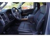 2018 Chevrolet Silverado 1500 LTZ Crew Cab Jet Black Interior