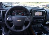2018 Chevrolet Silverado 1500 LTZ Crew Cab Dashboard