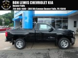 2018 Black Chevrolet Silverado 1500 LT Regular Cab 4x4 #127791178