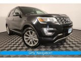 2017 Shadow Black Ford Explorer Limited 4WD #127814361