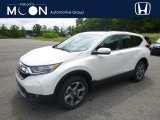 2018 White Diamond Pearl Honda CR-V EX AWD #127835979