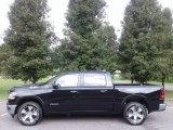 2019 Black Forest Green Pearl Ram 1500 Laramie Crew Cab 4x4 #127835746