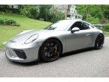 2018 Porsche 911 GT Silver Metallic