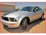 2009 Brilliant Silver Metallic Ford Mustang V6 Coupe #12725842