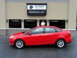 2015 Race Red Ford Focus SE Sedan #127889862